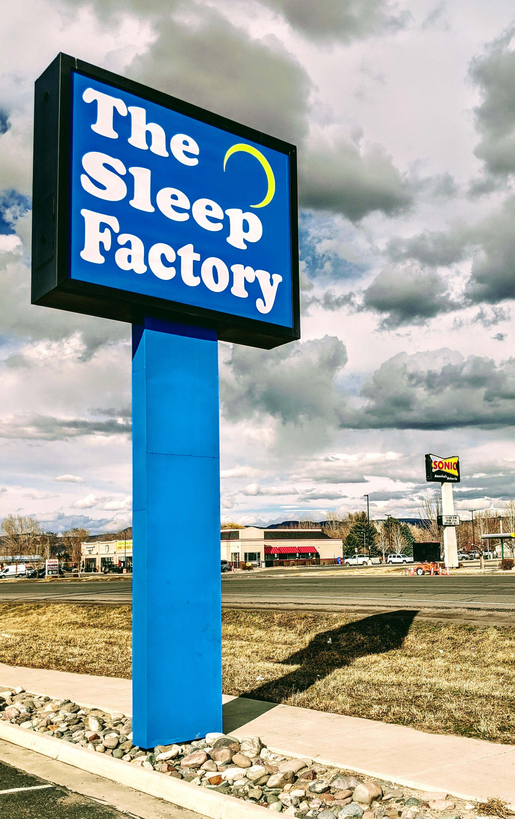 Sleep Factory Sign